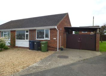 Thumbnail 2 bed semi-detached bungalow for sale in Hawthorn Way, St. Ives, Huntingdon