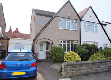Thumbnail 3 bed semi-detached house for sale in Farndon Avenue, Wallasey