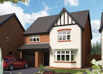 "Thumbnail 4 bed detached house for sale in ""The Haddon"" at Harbury Lane, Heathcote, Warwick"