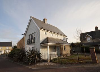 Thumbnail 3 bed detached house for sale in Saltings Crescent, West Mersea, Colchester