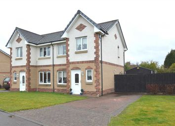 Thumbnail 3 bed semi-detached house for sale in Baird Gardens, Blantyre, Glasgow