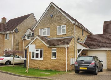 Thumbnail 4 bed link-detached house for sale in Bakery Close, Cranfield, Bedford