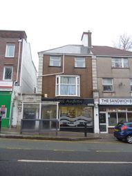 Thumbnail 1 bed flat to rent in Penygraig Road, Townhill, Swansea