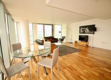 Thumbnail 3 bedroom flat to rent in Marsh Wall, Canary Wharf, London