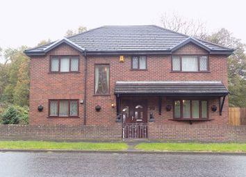 Thumbnail 4 bed detached house for sale in St James House, Pyle Road, Pyle, Bridgend.