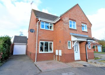 Thumbnail 3 bed semi-detached house for sale in Hawthorn Drive, Scarning