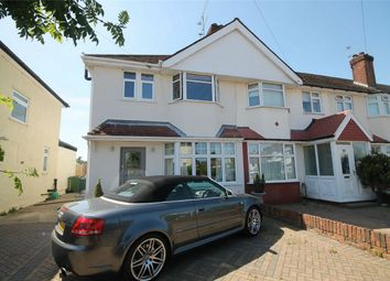 Thumbnail 3 bed end terrace house to rent in Evelyn Crescent, Sunbury On Thames, Surrey