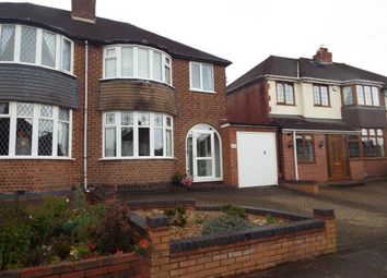 Thumbnail 3 bed semi-detached house for sale in Hollyhurst Road, Sutton Coldfield, Birmingham, West Midlands