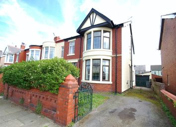 Thumbnail 4 bedroom end terrace house for sale in Rosebery Avenue, Blackpool