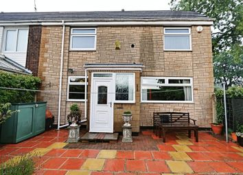 Thumbnail 2 bedroom end terrace house for sale in Logan Close, Bransholme, Hull