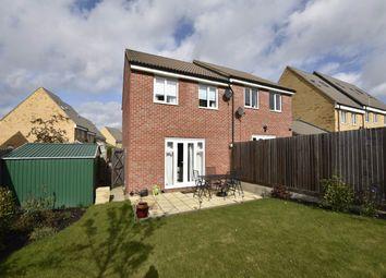 Thumbnail 3 bedroom semi-detached house for sale in Kelburn Road, Orton Northgate, Peterborough
