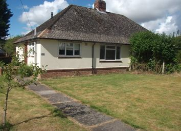 Thumbnail 2 bed bungalow to rent in Attwoods Drove, Winchester