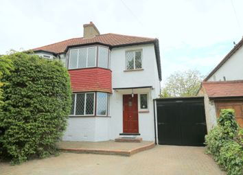 Thumbnail 3 bedroom semi-detached house to rent in Riddlesdown Road, Purley, Surrey