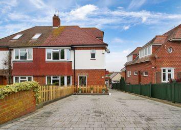 Hilltop Crescent, Portsdown Hill, Cosham PO6. 4 bed semi-detached house for sale