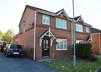 Thumbnail 3 bed semi-detached house for sale in North Way, Hyde
