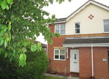 Thumbnail 1 bed end terrace house to rent in The Finches, Sandy, Bedfordshire