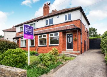 Thumbnail 3 bed semi-detached house for sale in Wensley Road, Leeds
