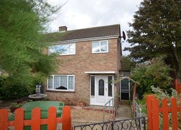 Thumbnail 3 bedroom semi-detached house for sale in Suffolk Close, Bletchley, Milton Keynes