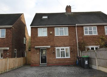 Thumbnail 5 bed semi-detached house for sale in Ward Avenue, Hucknall, Nottingham