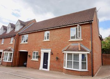 Thumbnail 4 bed semi-detached house for sale in Hallett Road, Dunmow