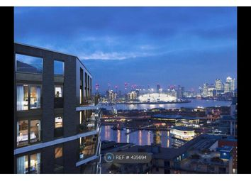 Thumbnail 2 bed flat to rent in Royal Docks West, London