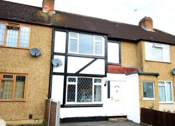 Thumbnail 3 bed terraced house for sale in Warwick Avenue, Egham
