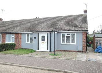 Thumbnail 2 bed semi-detached bungalow for sale in Heather Close, Clacton-On-Sea