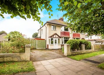 Thumbnail 3 bed semi-detached house for sale in Warwick Road, Upton, Wirral