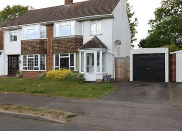 Thumbnail 3 bed semi-detached house to rent in Coppice Road, Woodley, Reading