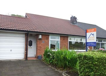 Thumbnail 2 bed bungalow to rent in New Heys Way, Harwood, Bolton