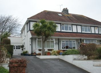 Thumbnail 5 bed semi-detached house for sale in Laura Grove, Paignton