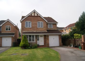 Thumbnail 4 bed detached house to rent in Oakleigh Close, Sharlston Common