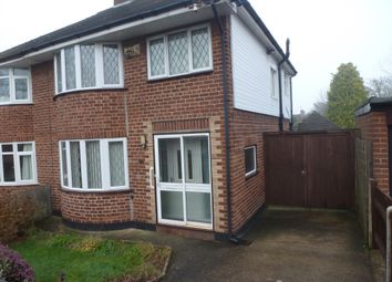 Thumbnail 3 bed semi-detached house to rent in 81 Barnston Road, Thingwall, Wirral
