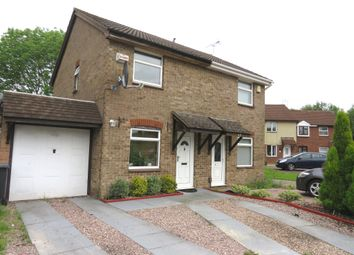 Thumbnail 2 bed semi-detached house for sale in Manor Drive, Anstey Heights, Leicester