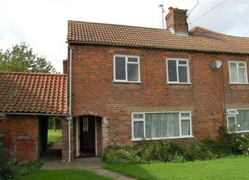 Thumbnail 3 bedroom semi-detached house to rent in Grange Farm Cottages, West Burton, Retford