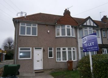 Thumbnail 3 bed semi-detached house to rent in Maple Crescent, Sidcup, Kent