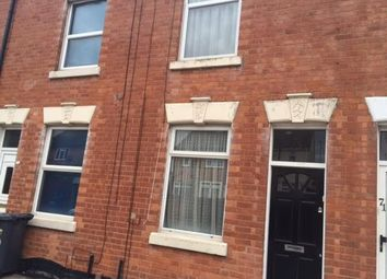 Thumbnail 2 bed terraced house to rent in Mostyn Street, Leicester
