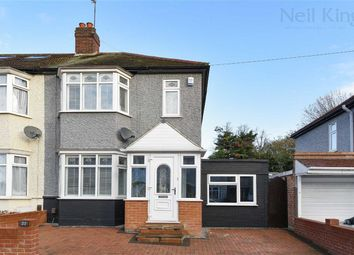 Thumbnail 3 bed end terrace house for sale in Sherwood Road, Ilford, Essex