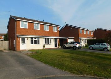 Thumbnail 2 bed semi-detached house to rent in Cromer Drive, Crewe