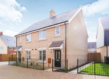 Thumbnail 3 bed semi-detached house for sale in Avon Rise, Biggleswade, Bedfordshire, .