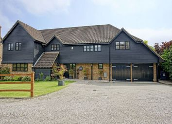 Thumbnail 5 bed detached house for sale in Thatchers Close, Yelling, St Neots
