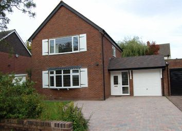 Thumbnail 3 bed detached house to rent in Rugby Close, Westlands