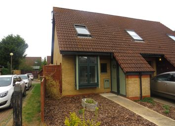 Thumbnail 2 bed semi-detached house for sale in Redwood Gate, Shenley Lodge, Milton Keynes