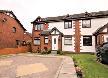 Thumbnail 2 bed flat for sale in Dysart Way, Moffat Mills, Airdrie