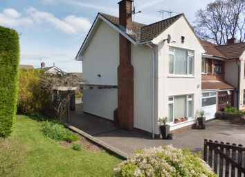 Thumbnail 3 bed semi-detached house for sale in Hawthorn Close, Dinas Powys