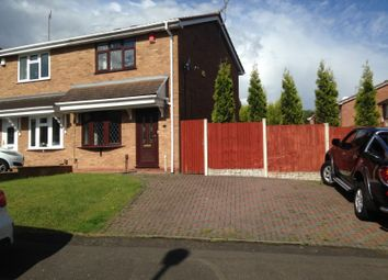 Thumbnail 2 bedroom semi-detached house to rent in 2 Fremont Drive, Dudley