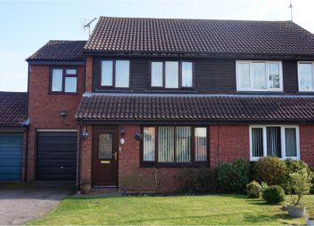 Thumbnail 4 bed semi-detached house for sale in Dawson Drive, Felixstowe