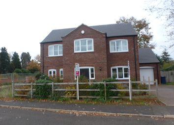 Thumbnail 4 bed detached house to rent in The Chase, Leverington Road, Wisbech