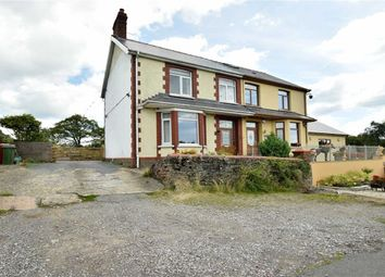 Thumbnail 3 bed semi-detached house for sale in Black Road, Penycoedcae, Pontypridd
