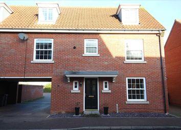 Thumbnail 4 bed town house for sale in Quantrill Terrace, Grange Farm, Kesgrave, Ipswich